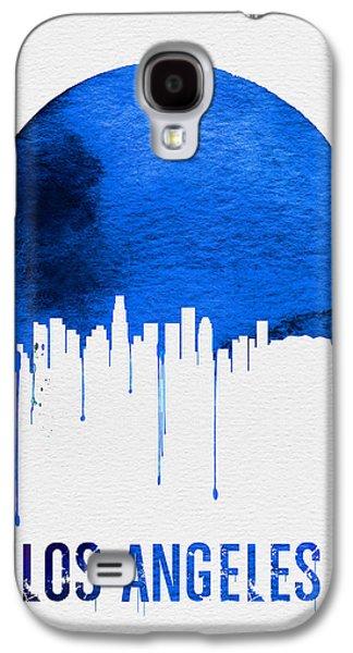 Los Angeles Skyline Blue Galaxy S4 Case