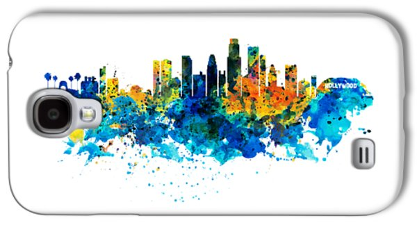 Los Angeles Skyline Galaxy S4 Case by Marian Voicu