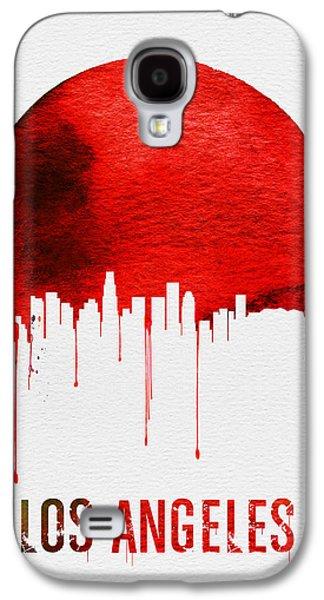 Los Angeles Skyline Red Galaxy S4 Case