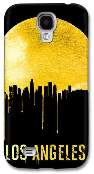 Los Angeles Skyline Yellow Galaxy S4 Case