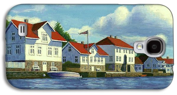 Loshavn Village Norway Galaxy S4 Case by Janet King