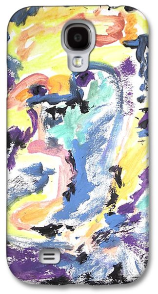 Loss Of Consciousness Galaxy S4 Case by Esther Newman-Cohen