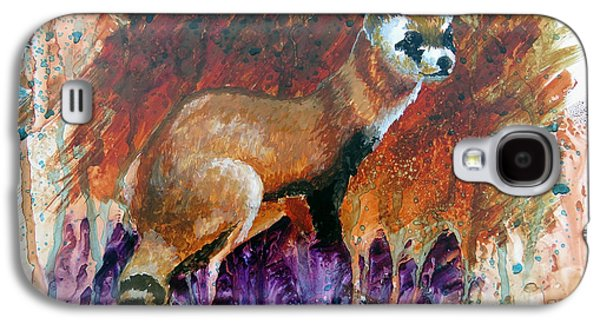 Lost Black-footed Ferret Galaxy S4 Case by Marcus Moller