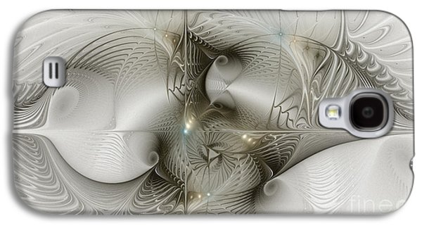 Lost In Space Galaxy S4 Case by Karin Kuhlmann