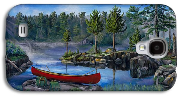 Lost In The Boundary Waters Galaxy S4 Case