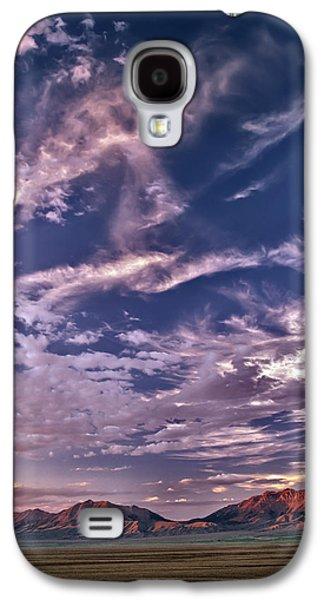 Lost River Sky Galaxy S4 Case by Leland D Howard