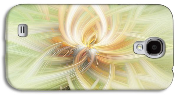 Lotus Abstract Galaxy S4 Case