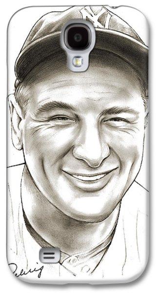 Lou Gehrig Galaxy S4 Case by Greg Joens