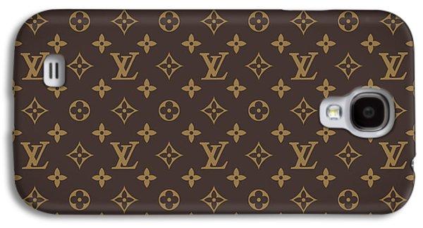Pattern Galaxy S4 Case - Louis Vuitton Texture by Taylan Apukovska