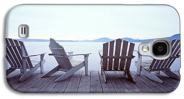 Lounge Chairs Moosehead Lake Me Galaxy S4 Case by Panoramic Images