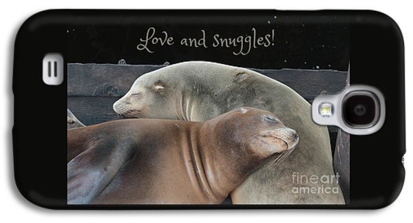 Love And Snuggles Galaxy S4 Case by Carol Groenen