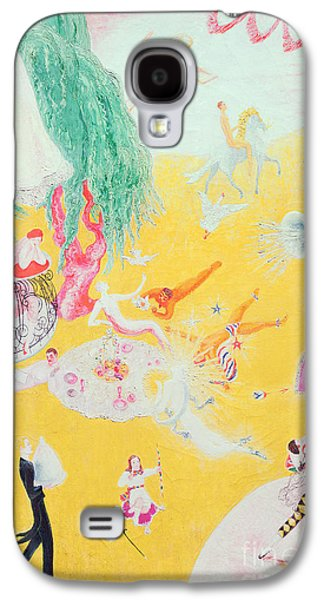 Balcony Galaxy S4 Cases - Love Flight of a Pink Candy Heart Galaxy S4 Case by  Florine Stettheimer