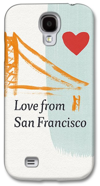 Love From San Francisco- Art By Linda Woods Galaxy S4 Case