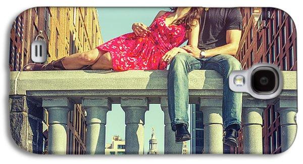 Love In Big City Galaxy S4 Case