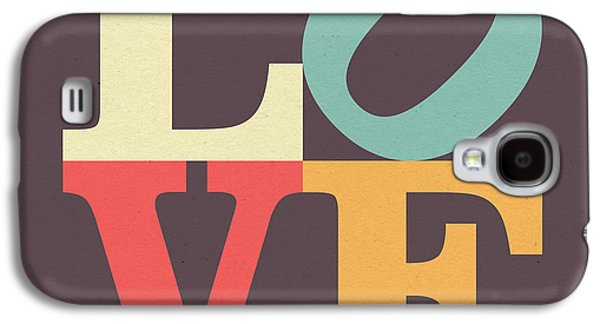 Love In Vintage Galaxy S4 Case by Taylan Apukovska
