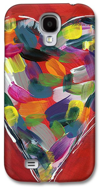 Love Is Colorful - Art By Linda Woods Galaxy S4 Case by Linda Woods