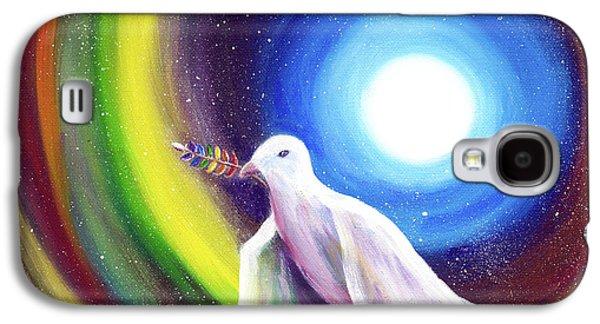 Love Is Love Peace Dove Galaxy S4 Case