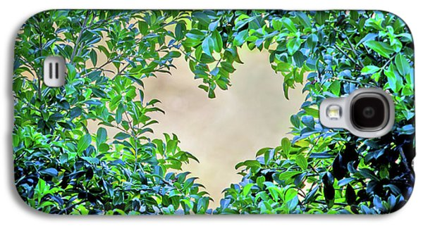 Featured Images Galaxy S4 Case - Love Leaves by Az Jackson
