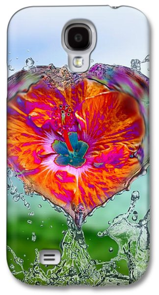 Love Makes A Splash Galaxy S4 Case