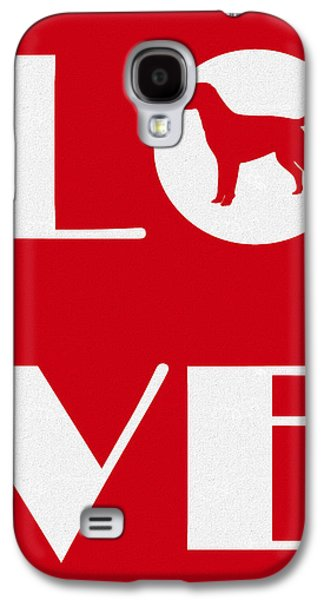 Love My Lab Galaxy S4 Case