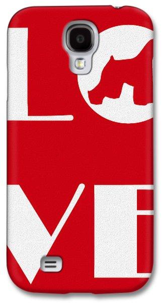 Love My Schnauzer Galaxy S4 Case