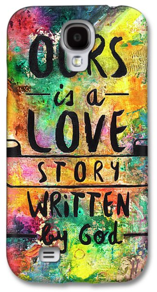 Love Story Written By God Galaxy S4 Case by Ivan Guaderrama