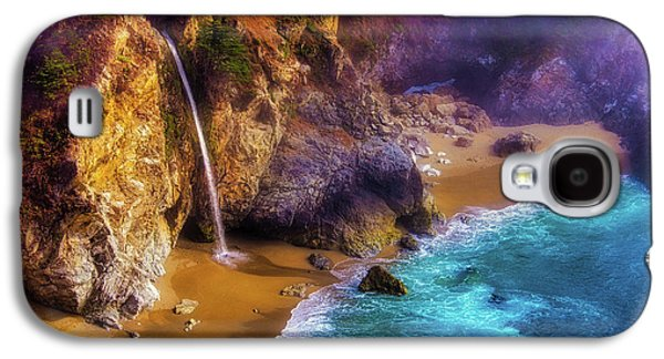 Lovely Big Sur Falls Galaxy S4 Case