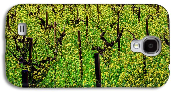 Lovely Mustard Grass Galaxy S4 Case by Garry Gay