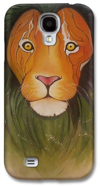 Galaxy S4 Case - Lovelylion by Anne Sue