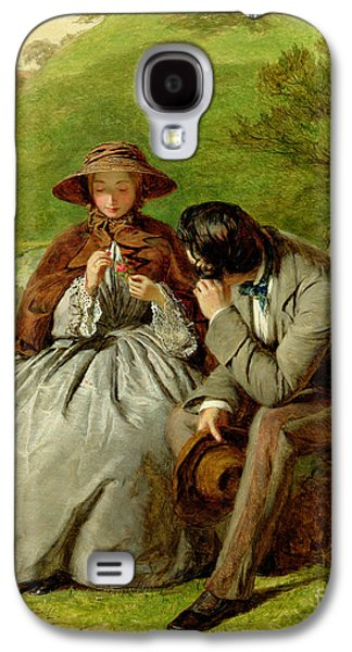 Lovers Galaxy S4 Case by William Powell Frith