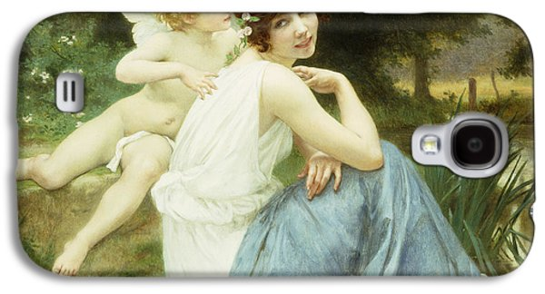 Love's Whisper Galaxy S4 Case by Guillaume Seignac