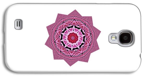 Loving Rose Mandala By Kaye Menner Galaxy S4 Case