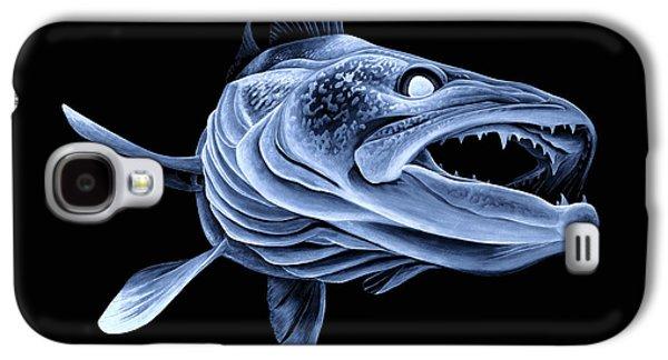 Low Light Walleye Galaxy S4 Case