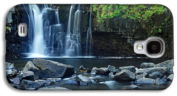 Lower Johnson Falls Galaxy S4 Case by Larry Ricker