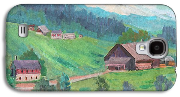Lucerne Countryside Galaxy S4 Case by Diane McClary