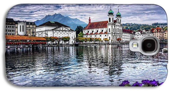 Lucerne In Switzerland  Galaxy S4 Case by Carol Japp