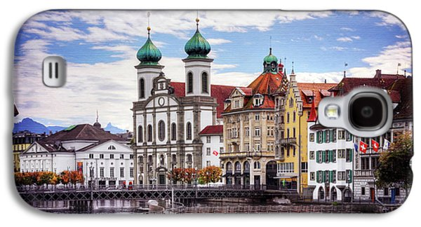 Lucerne Switzerland  Galaxy S4 Case by Carol Japp