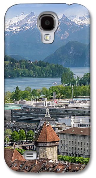 Lucerne View To Lake Lucerne Galaxy S4 Case by Melanie Viola