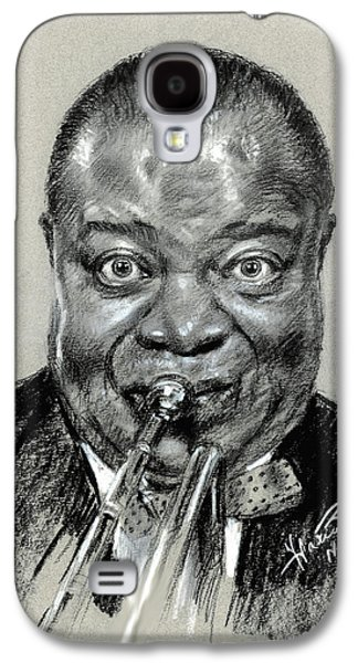 Louis  Armstrong Galaxy S4 Case by Ylli Haruni
