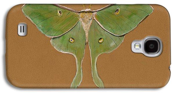 Luna Moth Galaxy S4 Case by Juan Bosco