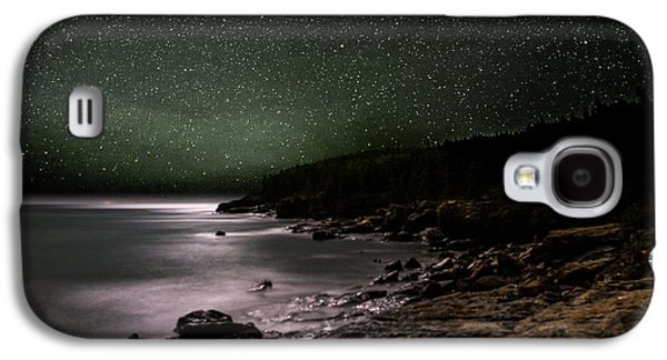 Lunar Eclipse Over Great Head Galaxy S4 Case
