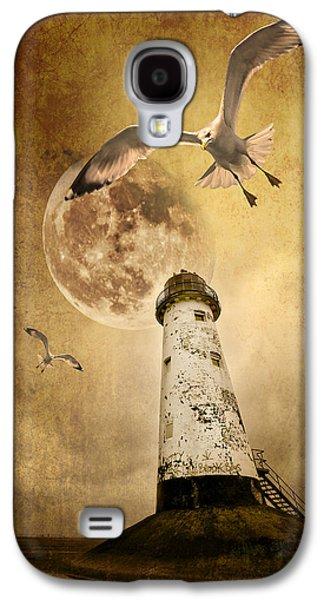 Lunar Flight Galaxy S4 Case by Meirion Matthias