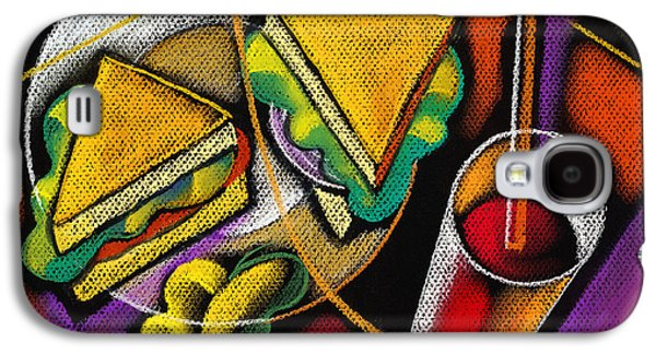 Lunch Galaxy S4 Case by Leon Zernitsky