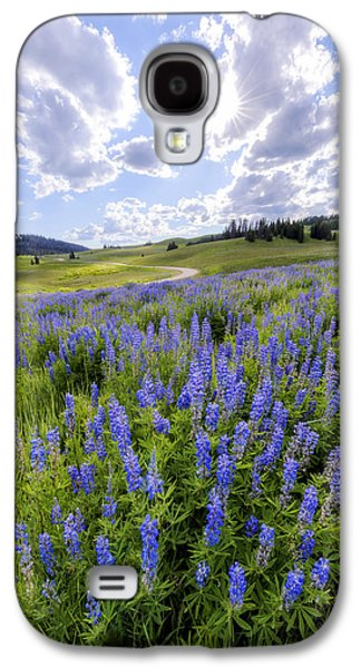 Lupine Pass Galaxy S4 Case by Chad Dutson