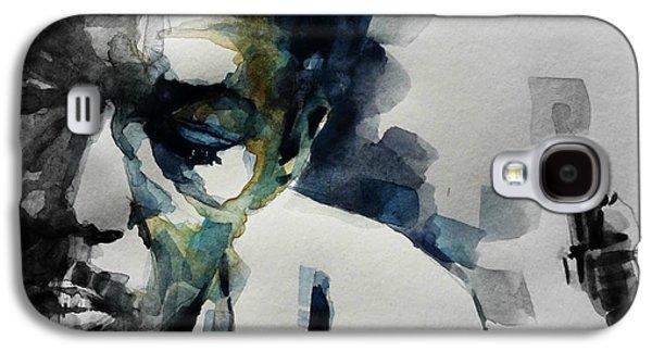 Saxophone Galaxy S4 Case - Lush Life  John Coltrane  by Paul Lovering