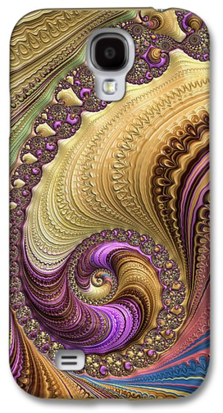 Luxe Colorful Fractal Spiral Galaxy S4 Case