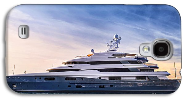 Boat Galaxy S4 Case - Luxury Yacht by Elena Elisseeva