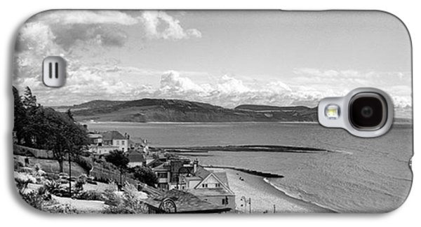 Sky Galaxy S4 Case - Lyme Regis And Lyme Bay, Dorset by John Edwards