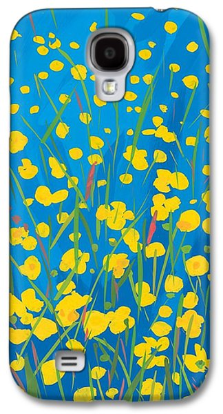 Lympstone Buttercups Galaxy S4 Case by Sarah Gillard