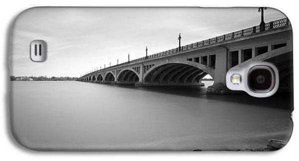 Macarthur Bridge To Belle Isle Detroit Michigan Galaxy S4 Case by Gordon Dean II